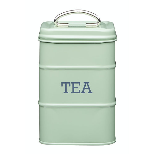 Living Nostalgia Tea Storage Canister - English Green Sage