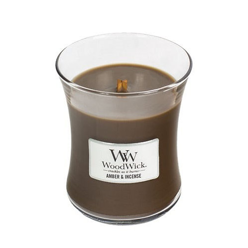 Amber & Incense - Medium Hour Glass Candle