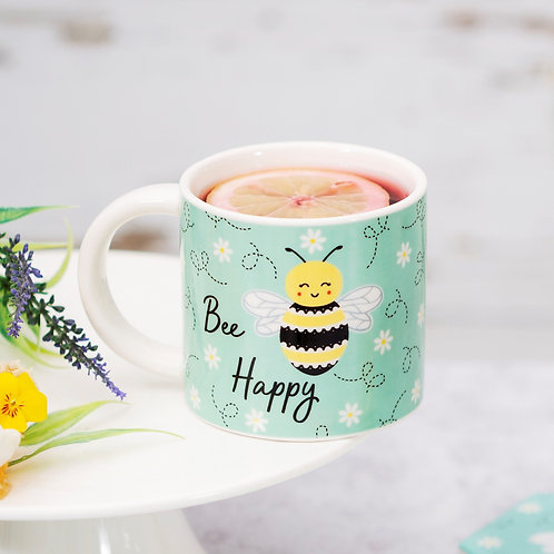 Sass & Belle Bee Happy Mug