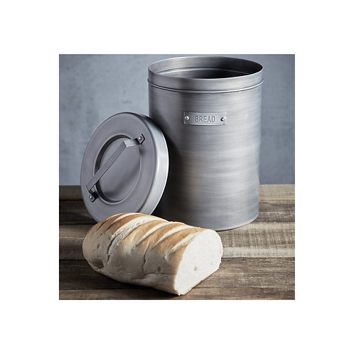 Industrial Kitchen Vintage-Style Metal Bread Bin