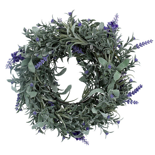 Gisela Graham Faux Lavender Wreath