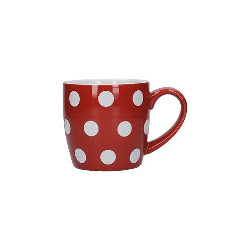 London Pottery Globe Red Spotty Mugs Set of Two