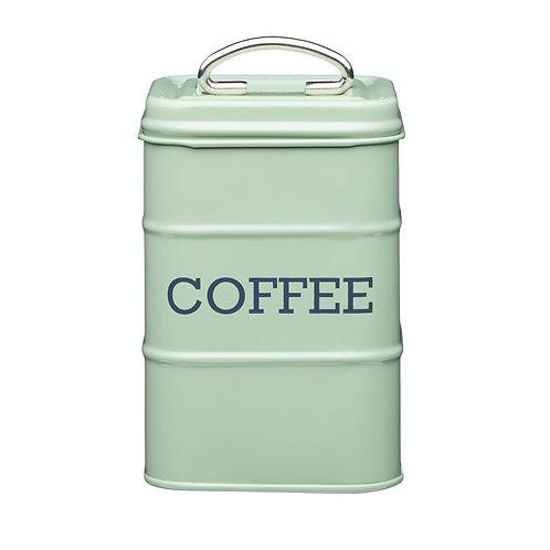 Living Nostalgia Coffee Storage Canister - English Green Sage
