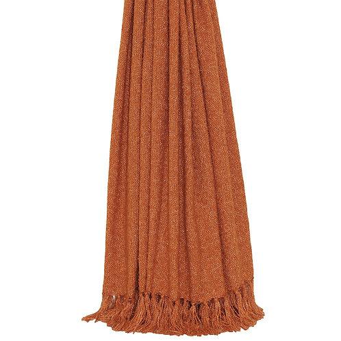Auriella Throw Burnt Orange 127x180cm