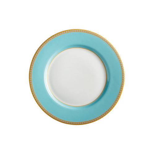 Maxwell and Williams Teas and C's Kasbah Turquoise High Rim Plate