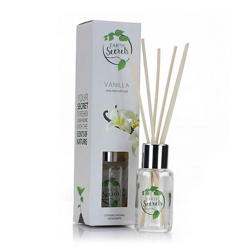 Earth Secrets: Reed Diffuser - Vanilla 50ml