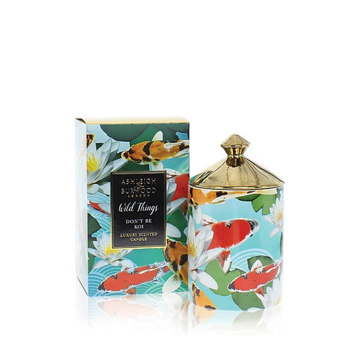WILD THINGS: CANDLE - DON'T BE KOI