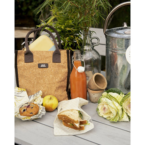 KitchenCraft Natural Elements Eco-Friendly Set of Two Beeswax Sandwich Bags