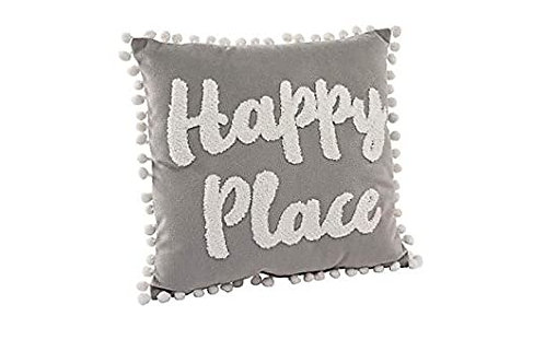 Happy Place Cushion by Richard Lang