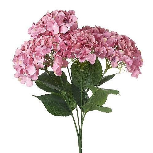 Heaven Sends Bunch of Pink Faux Hydrangeas
