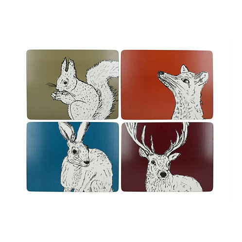 Into the Wild Premium Placemat - Stag