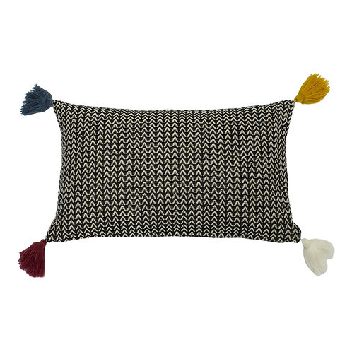 Rhia Monochrome Cushion by Riva Home 30x50cm