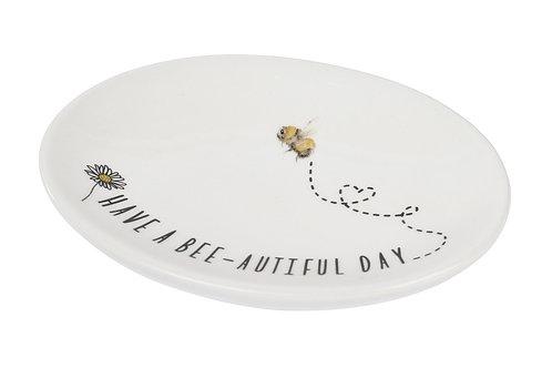 Ceramic Bee Soap Dish