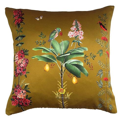 Riva Home Botanical Parrot Cushion - Olive 50x50cm