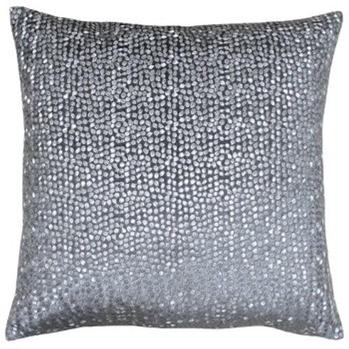 Galaxy Grey/Silver Cushion 50cm x50cm