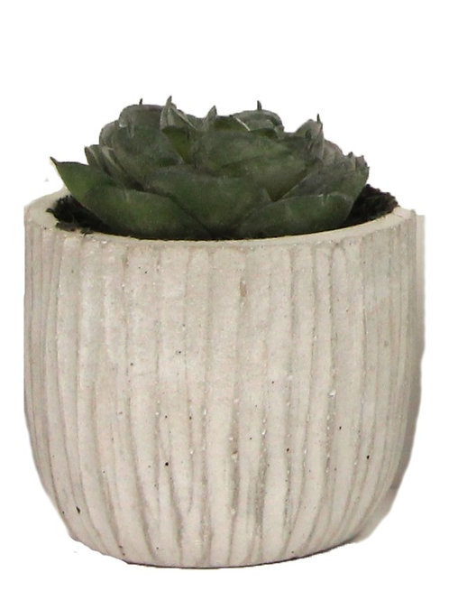 Gisela Graham Mini Faux Succulent - Rose