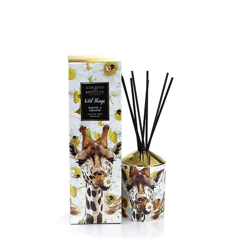 Wild Things Reed Diffuser - You're Having a Giraffe (Orange Blossom)