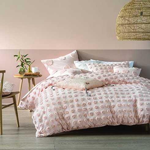 Paoletti Haze Pin Double Duvet Set
