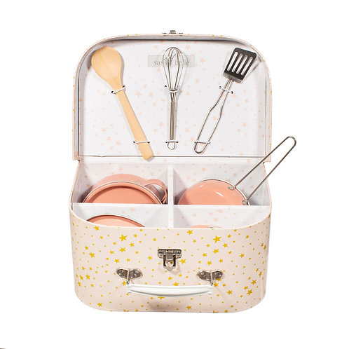 Sass and Belle Scattered Stars Play Cooking Set