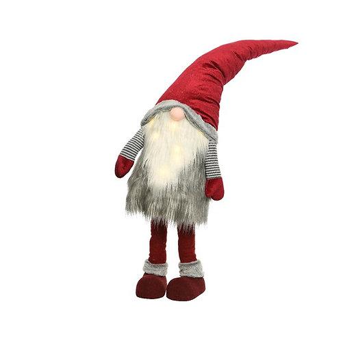 Large LED Lit Gonk Santa