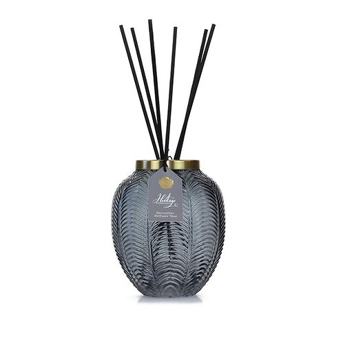The Heritage Collection: Decorative Diffuser Vase - Grey