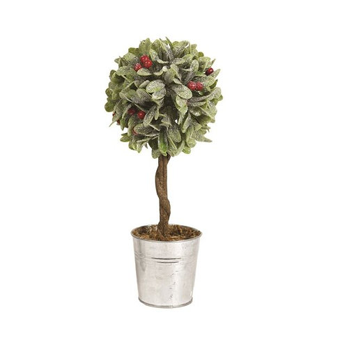 Leaf and Berry Topiary Tree 36cm