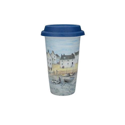 Creative Tops Cornish Harbour Travel Mug
