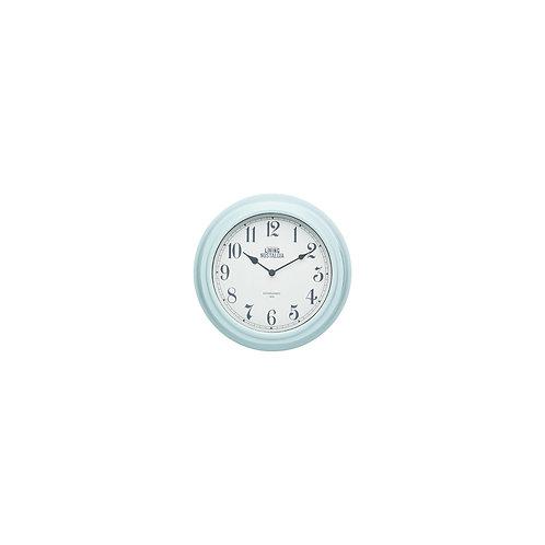 Living Nostalgia Analogue Wall clock - Vintage Blue