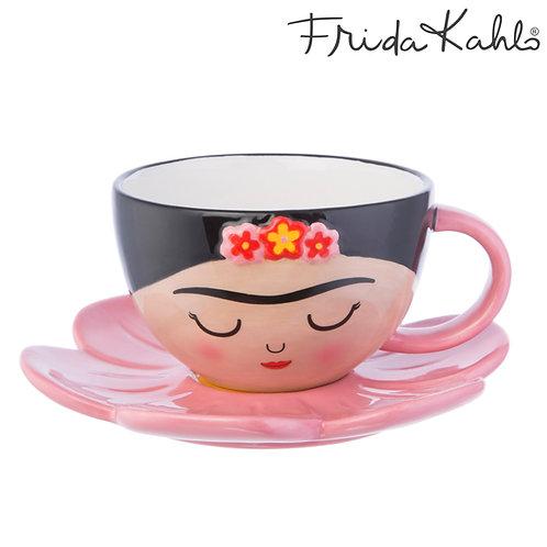 Frida Kahlo Cup & Saucer Set by Sass & Belle