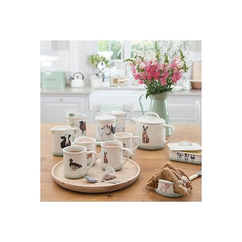 Apple Farm Teapot 1.4 Litre in Stoneware
