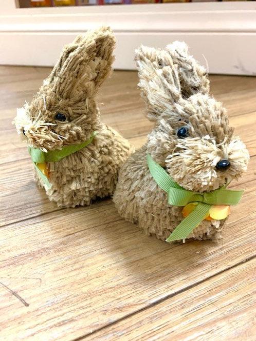 Gisela Graham Easter Spring Bunny Rabbit Brush Small 12cm