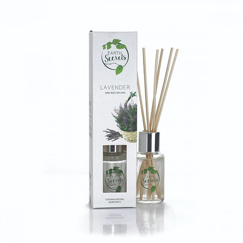 Earth Secrets: Reed Diffuser - Lavender 50ml