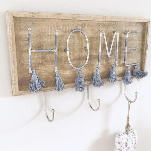 Home Tassel Hook Plaque