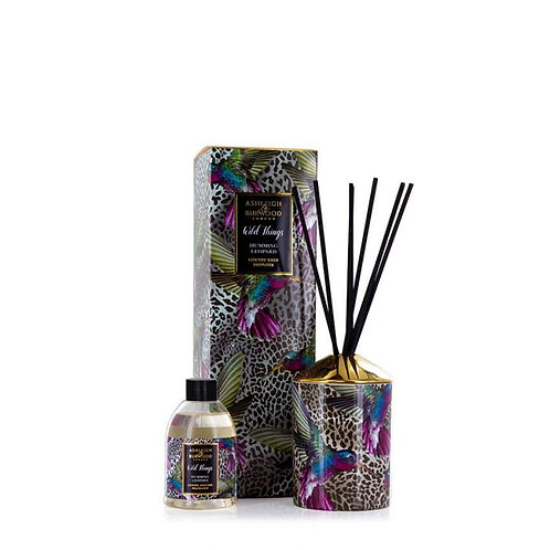 Wild Things Reed Diffuser - Humming Leopard