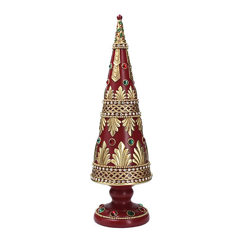 Gisela Graham Cone Tree with Jewels