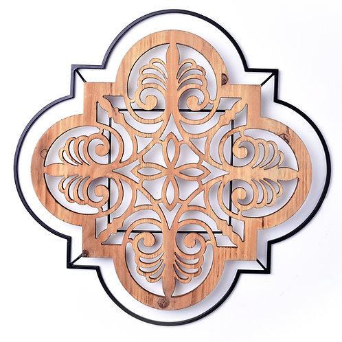 Bohemian Wooden Wall Art Cut Out Design