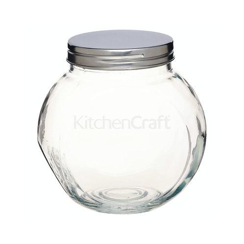 Kitchencraft Home Made Tilt or Tall Large Glass Storage Jar