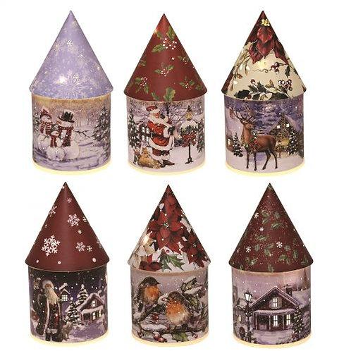 Light Up Christmas House - Snowman
