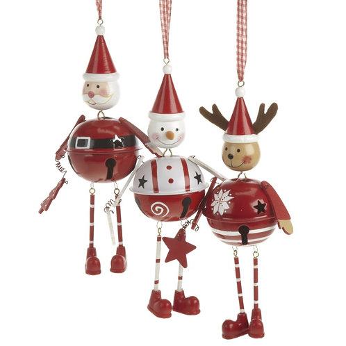 Bell Hanging Santa