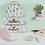 Thumbnail: Sass & Belle Pastel Cactus Suitcases Set of 3