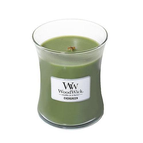 Evergreen - Medium Hour Glass Candle