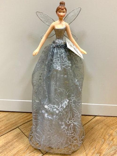 Gisela Graham Silver Fairy Topper
