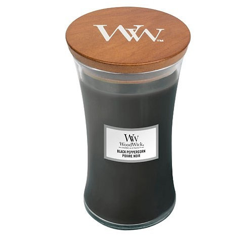 Black Peppercorn - Large Hour Glass Candle