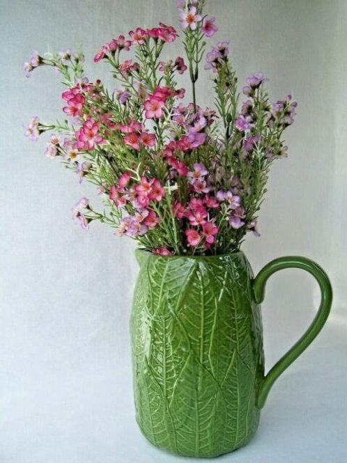 Gisela Graham Cabbage Green Gloss Jug