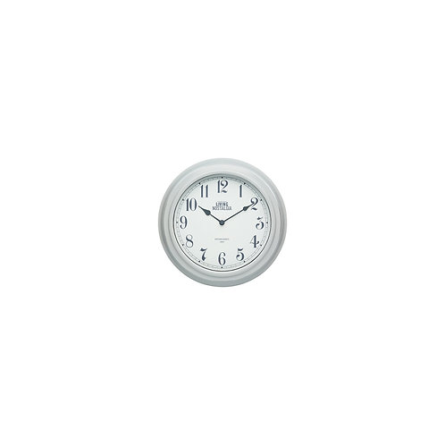 Living Nostalgia Analogue Wall clock - French Grey