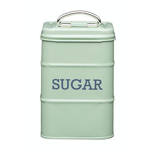 Living Nostalgia Sugar Storage Canister - English Green Sage