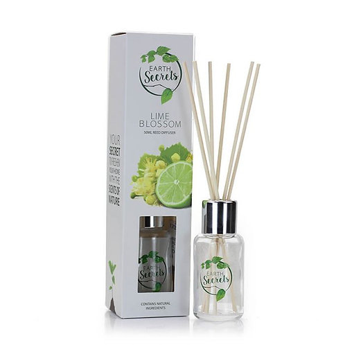 Earth Secrets: Reed Diffuser - Lime Blossom 50ml