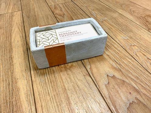 Paddywax Urban Driftwood Bergamot and Mahogany Candle