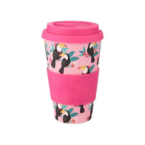 Sass & Belle Tiki Toucan Bamboo Coffee Cup