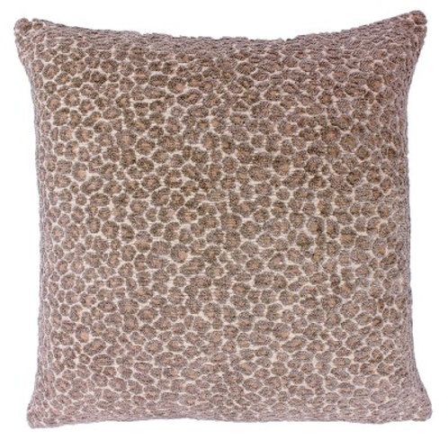 Leo Taupe Cushion by Riva Home 45x45cm
